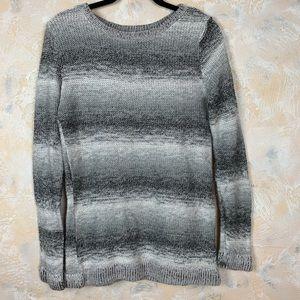 BB Dakota Ombre Knit Striped Sweater 11
